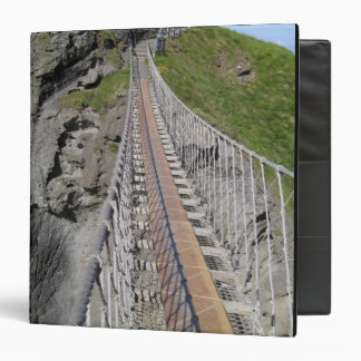 Historic Carrick-a-rede rope bridge, Northern 3 Ring Binders