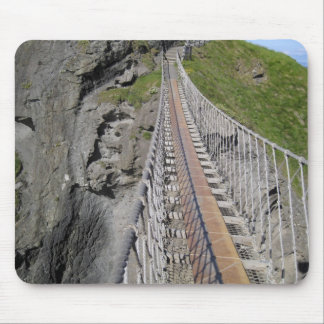 Historic Carrick-a-rede rope bridge, Northern Mouse Pad