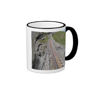 Historic Carrick-a-rede rope bridge, Northern Ringer Mug