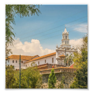 Historic Center of Cuenca, Ecuador Photo Print