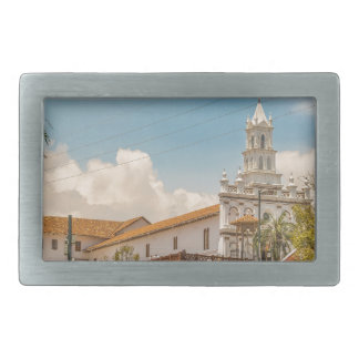 Historic Center of Cuenca, Ecuador Rectangular Belt Buckle