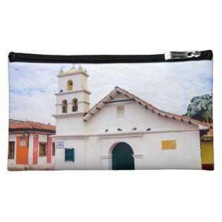 Historic Chapel in Bogota Cosmetic Bag