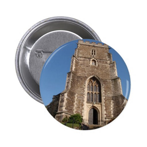 Historic Church In Hastings England 2 Inch Round Button