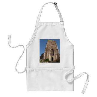 Historic Church In Hastings England Adult Apron