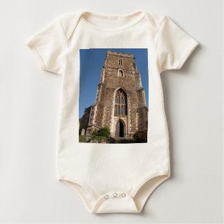 Historic Church In Hastings England Baby Bodysuit
