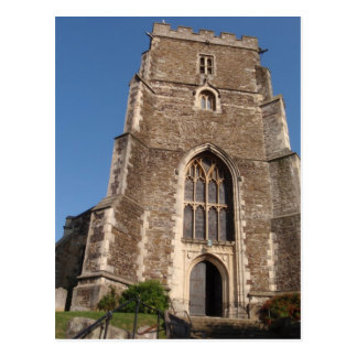 Historic Church In Hastings England Postcard