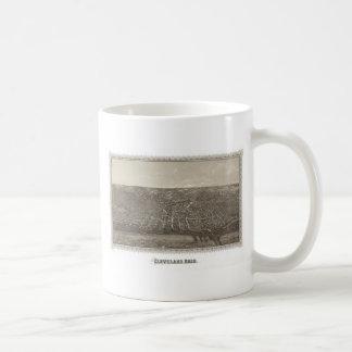 Historic Cleveland, 1887 Coffee Mug