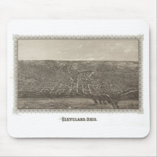 Historic Cleveland, 1887 Mouse Pad