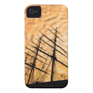Historic Clipper English Sailing Ship iPhone 4 Case-Mate Cases