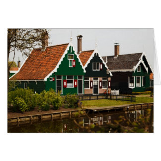 Historic Country Dutch Cottages Blank Notecards Card