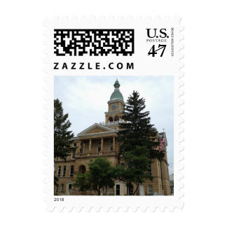 Historic Courthouse Architecture Postage Stamps