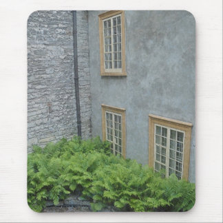 Historic Courtyard Building French Architecture Mouse Pads