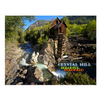 Historic Crystal Mill Postcard