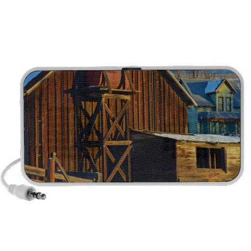 Historic Dalles Mt, Ranch Portable Speakers