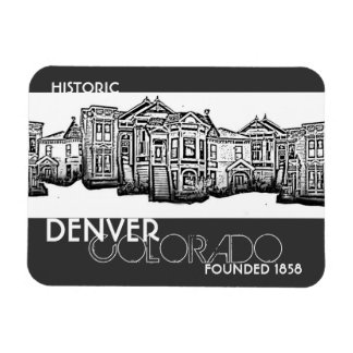 Historic Denver Colorado old town magnet