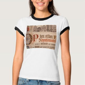 Historic Document  Antique Certificate Vintage T-Shirt