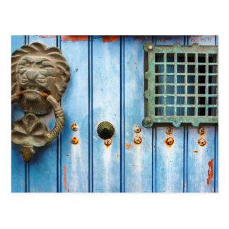 Historic Door Knocker Postcard