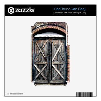 Historic Double Doors iPod Touch 4G Skins