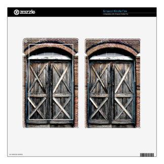 Historic Double Doors Kindle Fire Skin
