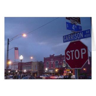 Historic Downtown Fort Smith, Arkansas Card