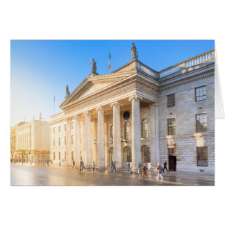 Historic Dublin Ireland Post Office Card
