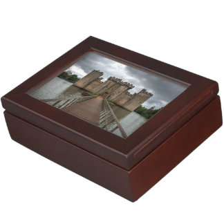 Historic English Castles Bodiam Castle Sussex Memory Box