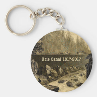 Historic Erie Canal Bicentennial Years Keychain