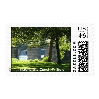 Historic Erie Canal NY State stamp