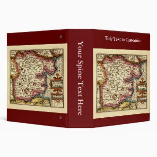 Historic Essex County Map, England Binder