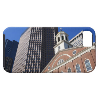 Historic Faneuil Hall against modern Boston iPhone SE/5/5s Case