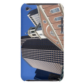 Historic Faneuil Hall against modern Boston iPod Touch Cover