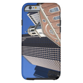 Historic Faneuil Hall against modern Boston Tough iPhone 6 Case