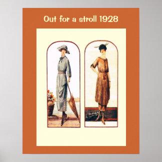 Historic Fashion 1928 Posters