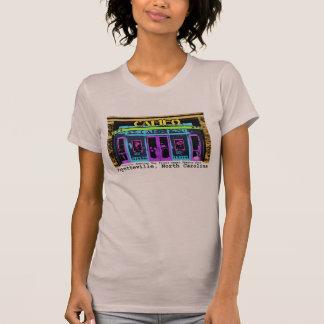 historic Fayetteville NC Cameo black type T-Shirt