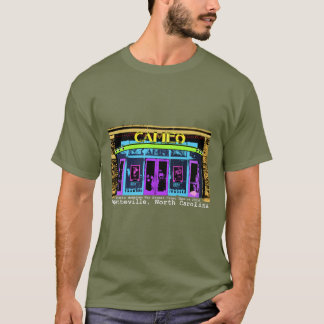historic Fayetteville NC Cameo white type T-Shirt