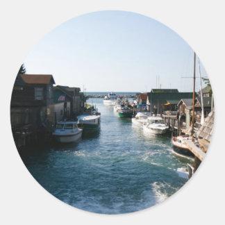 Historic Fishtown Classic Round Sticker