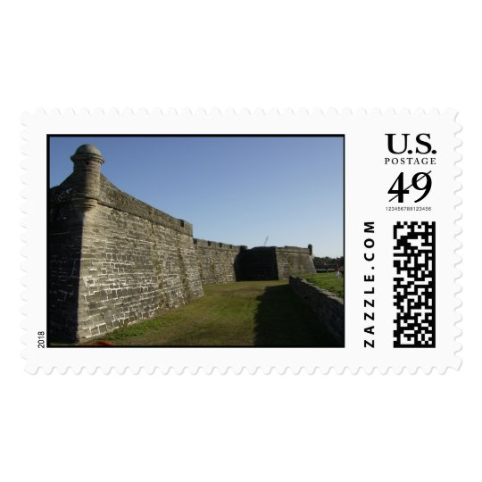 Historic Fort at at St. Augustine, Florida Postage