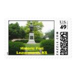 Historic Fort Leavenworth, KS- General Grant Postage