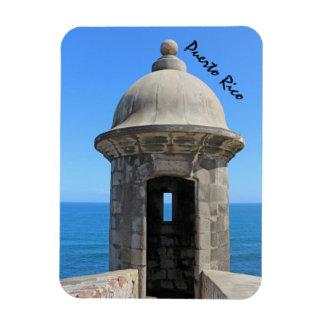 Historic Fort Rectangular Photo Magnet