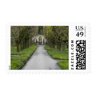 Historic Garden Pathway Postage Stamp