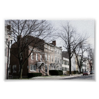 Historic Geneva NY Poster