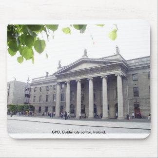 Historic GPO building, Dublin city Ireland. Mouse Pads