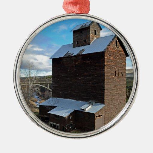 Historic Gran Storage Building Ornaments
