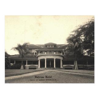 Historic Haleiwa Hotel Postcard, Oahu, Hawaii Postcard