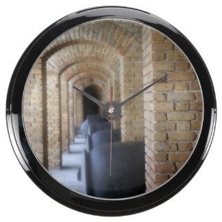 Historic Hallway Fish Tank Clock