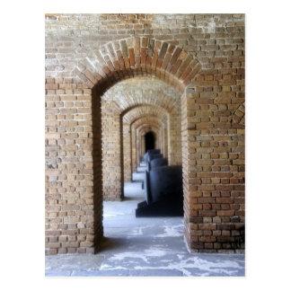 Historic Hallway Postcard