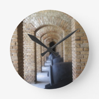 Historic Hallway Round Clocks