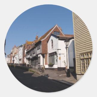 Historic Hastings Classic Round Sticker