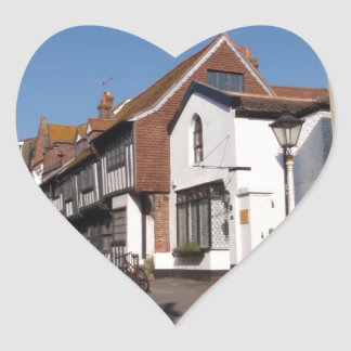 Historic Hastings Heart Sticker