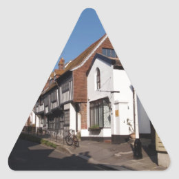 Historic Hastings Triangle Sticker